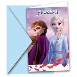 Frozen 2 Uitnodigingen - 6 st