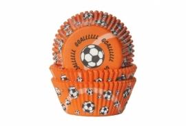 50 Cupcake bakvorm Voetbal Goal!!