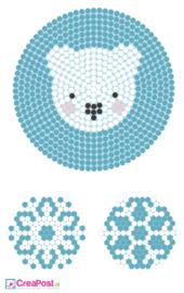 Knutselidee: Kersthangers van strijkkralen - Pooldieren
