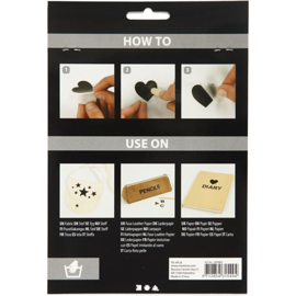 Rub-On Stickers - Sterren - o.a. voor textiel