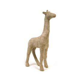 Giraf van papier-mache | 15 cm