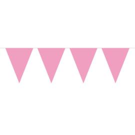 Vlaggenlijn roze | 10 m
