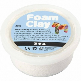 Foam Clay - Klei - Wit 35 gram