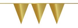 Vlaggenlijn goud | 10 m