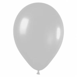 10 Ballonnen Zilver