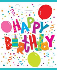 Happy Birthday Feestzakjes - 8 st