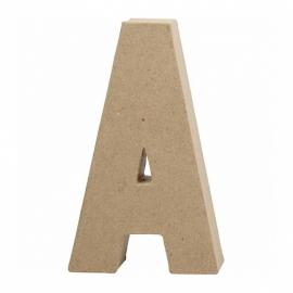 Papier-mache Letter A - 20 cm