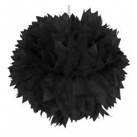Pompoms | zwart | 30 cm