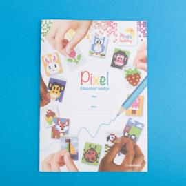 Pixelhobby Knutselpakket Sleutelhangers maken - incl. 15 Activiteitenboekjes