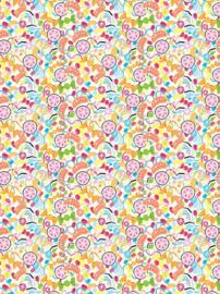 Decoupage papier Snoepjes | 30 x 40 cm | FDA732