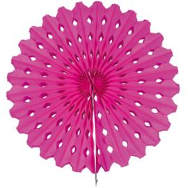 Honeycomb Waaier | hardroze | 45 cm