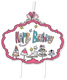 JILL Kaarsje 'Happy Birthday'