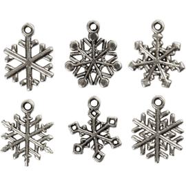 Sneeuwvlok hangers - 20 mm