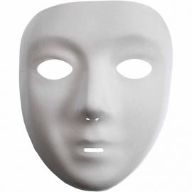 Kunststof Masker met zachte Velour afwerking