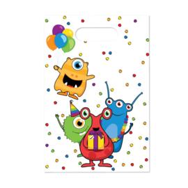 Funny Monster Party - Feestzakjes - 6 st