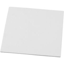 Canvas paneel - 15 x 15 cm - dikte 3 mm