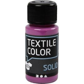 Textile Color Solid Fuchsia - dekkende textielverf  - 50 ml