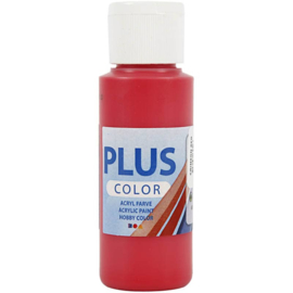 Plus Color Acrylverf Crimson Red 60 ml