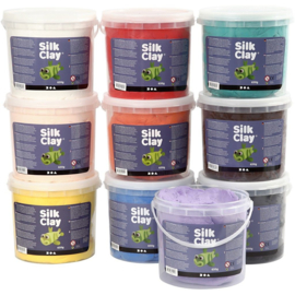 Silk Clay - Klei -  10 x 650 gr