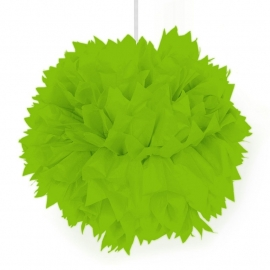 Pompoms Lime Groen