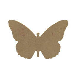 MDF Zomer Vlinder - 12 cm