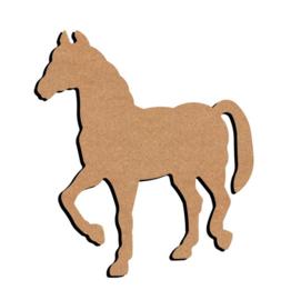 MDF Paard 15 cm