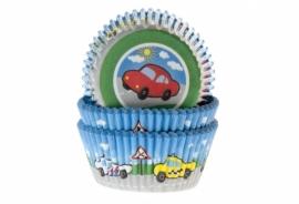 Cupcake bakvorm Auto