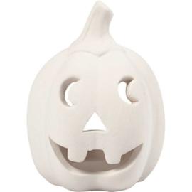 Halloween Pompoenhoofdje - 9,5 x 6,5 cm