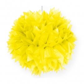 Pompoms | geel | 30 cm