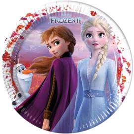 Frozen 2 Borden - 23 cm - 8 st