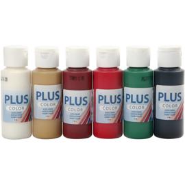 Plus Color Acrylverf Najaar | 6 kleuren | 60 ml