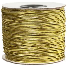 Elastisch Koord Goud - 100 meter - dikte 1 mm