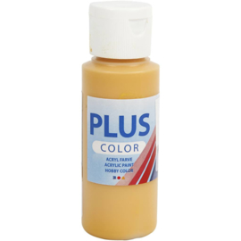 Plus Color Acrylverf  Oker Geel 60 ml