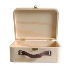 Houten Koffer 23 cm