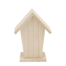 Houten Vogelhuisje - 13,5 cm