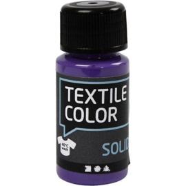 Textile Color Solid Paars - dekkende textielverf  - 50 ml