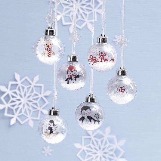 Knutselidee: Kerstdecoratie met kleurplaatje