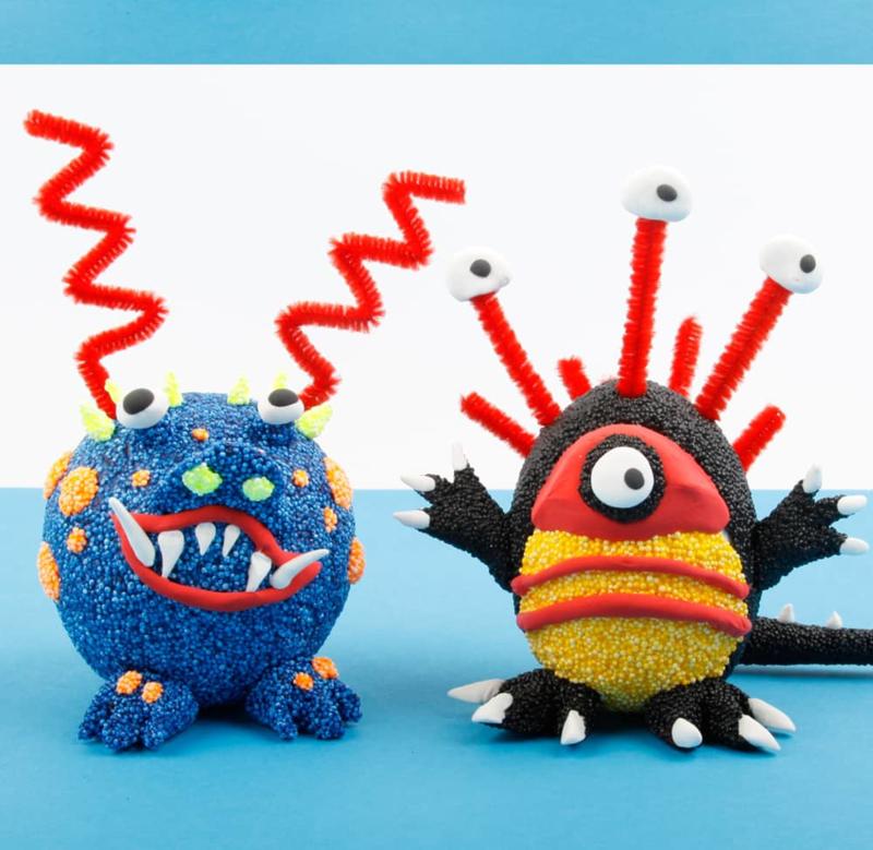 Knutselpakket Kinderfeestje - Funny Monsters van Foam Clay