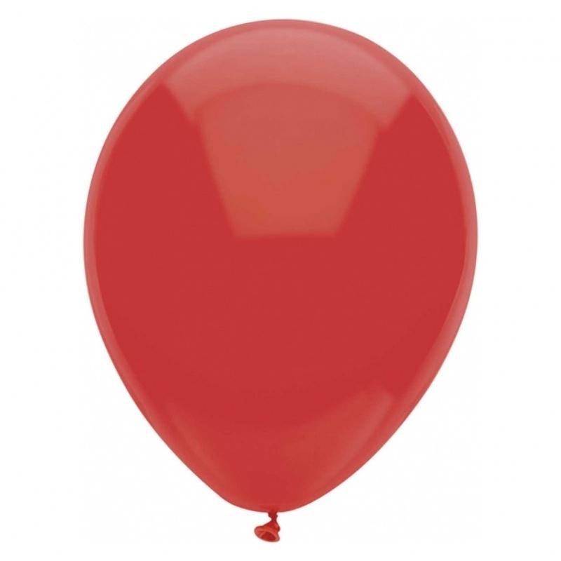 10 Ballonnen Rood