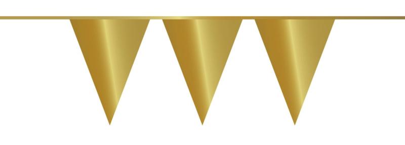 Vlaggenlijn Goud - 10 m