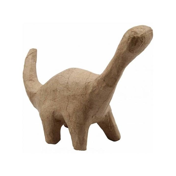 Apatosaurus van papier-mache 22 cm