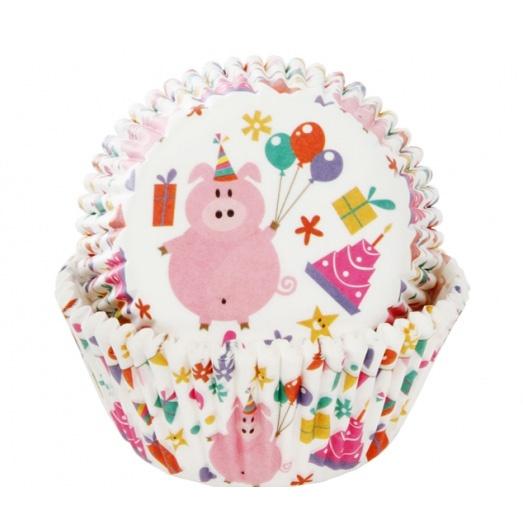 Cupcake bakvorm kinderfeestje