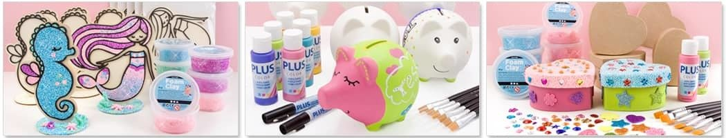 Knutselpakketten voor jongens en meisjes