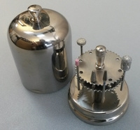 Magnetische frezen houder rvs met deksel