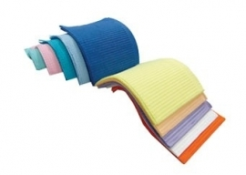 Dental Towels 500st. in diverse kleuren