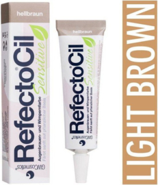 Refectocil sensitive licht bruin tube 15ml