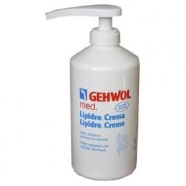 Gehwol Med. Lipidro-créme 500ml + pomp