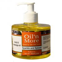 Oil'n More Sparkle and Spiced body & massage oil 300ml