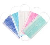 Comforties Mondmaskers (mondkapjes)  50st.  IIR  Div. kleuren