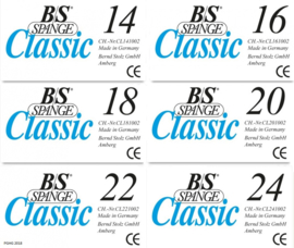 B/S Spange Classic strips div maten 10st.